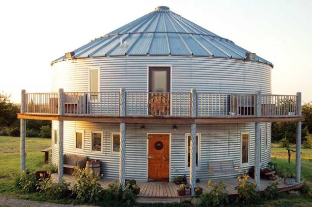 How To Build Your Own Grain Bin House