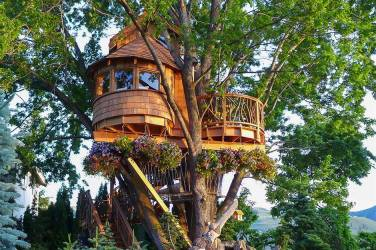Treehouse Living- How To Build Your Own